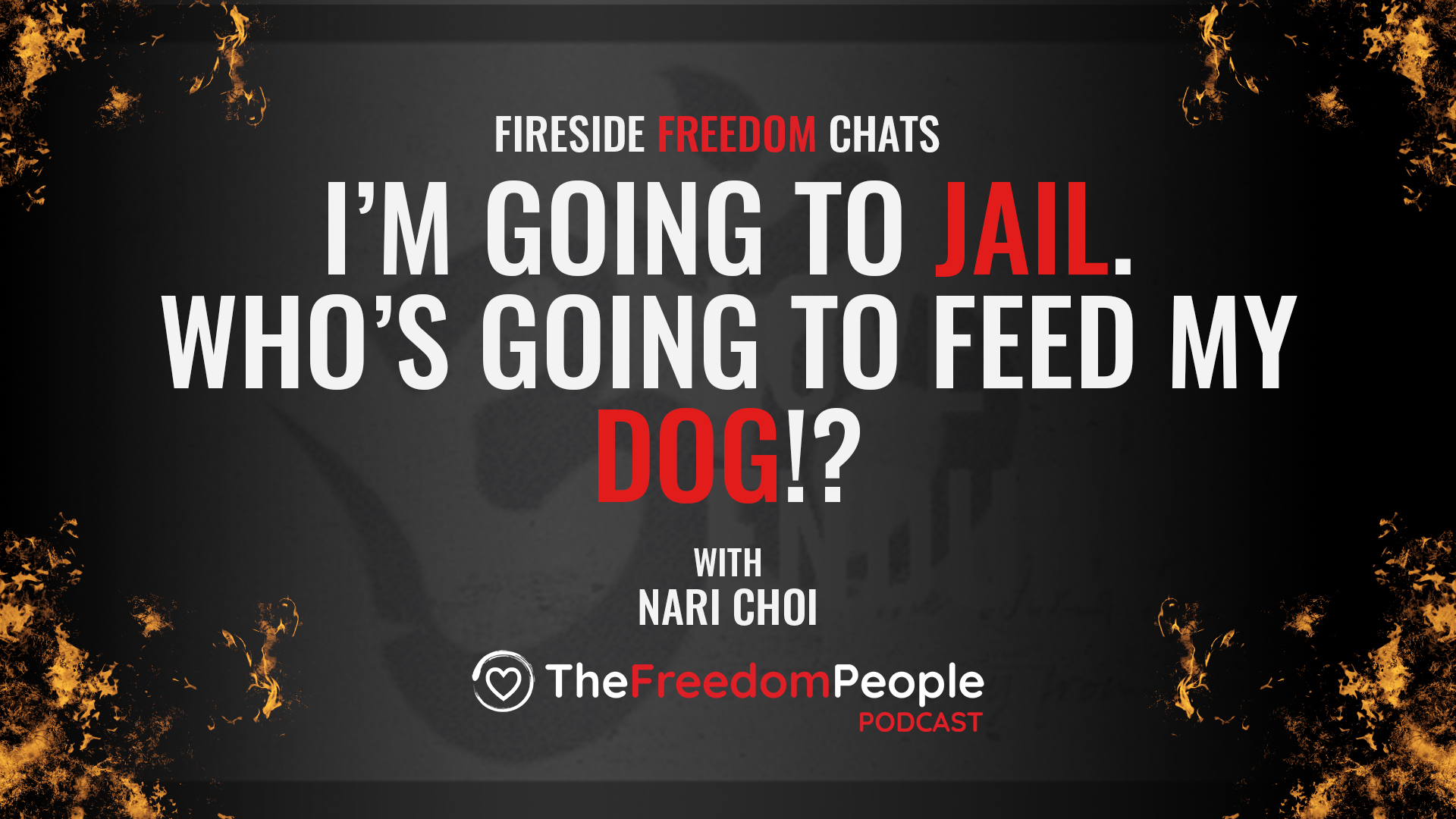 I'm Going to Jail. Who is going to feed my dog?!
